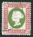 N°05-1869-HELIGOLAND-VICTORIA-1/4S-CARMIN ET VERT
