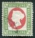 N°05A-1869-HELIGOLAND-VICTORIA-1/4S-VERT ET CARMIN