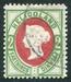 N°11-1875-HELIGOLAND-VICTORIA-2PF-VERT ET CARMIN