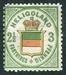 N°16-1876-HELIGOLAND-3PF-VERT/JAUNE/ROSE